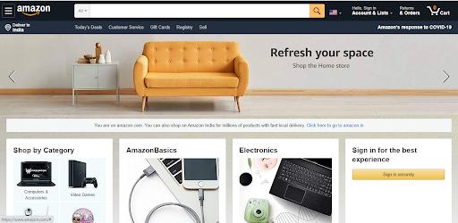 Amazon Clone Marketplace